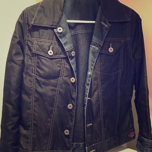 Guess reversible denim jacket